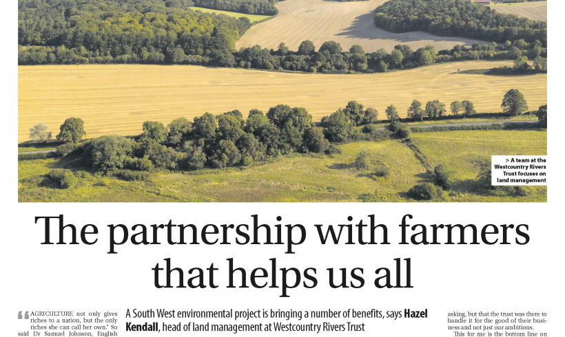 The partnership with farmers that helps us all