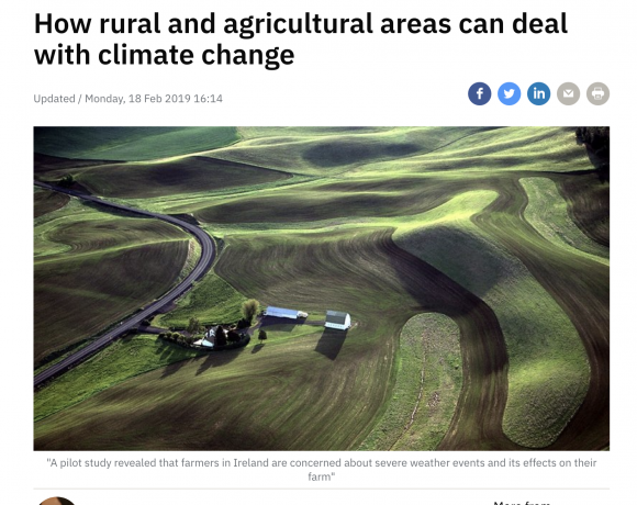How rural and agricultural areas can deal with climate change
